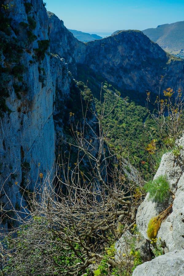 Monte Pellegrino, PA u. x28; Italy& x29; lizenzfreie stockbilder