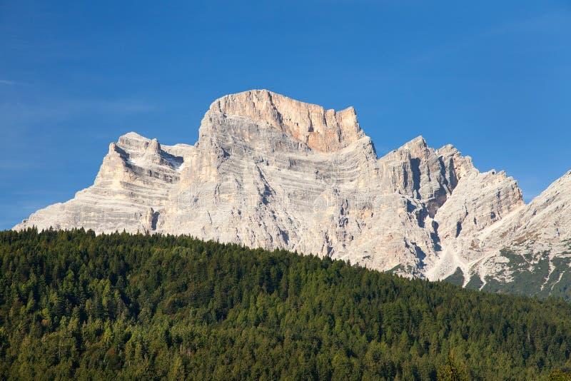 Monte Pelmo 免版税图库摄影