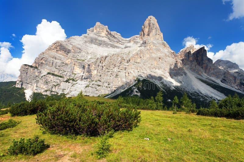 Monte Pelmo 免版税库存照片