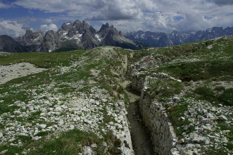 Download Monte Piano stock image. Image of alps, rock, dolomity - 26033057