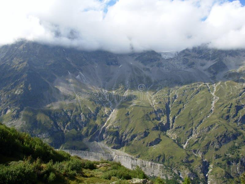 Monte Rosa Mountain stock foto
