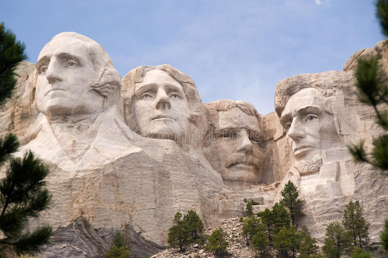 Monte Rushmore fotos de stock