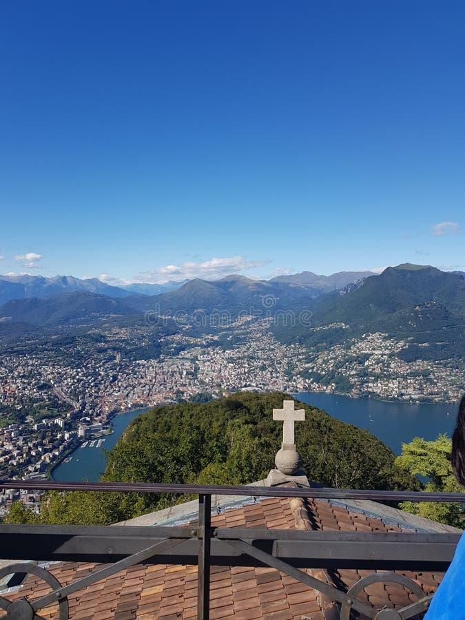 Monte Sal Salvadore fotos de stock royalty free