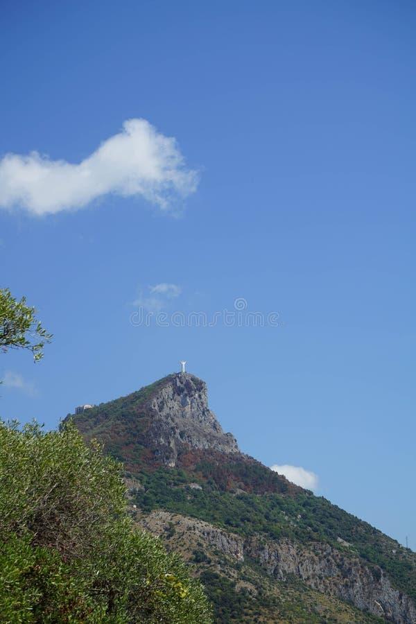 Monte San Biagio, Maratea photos libres de droits