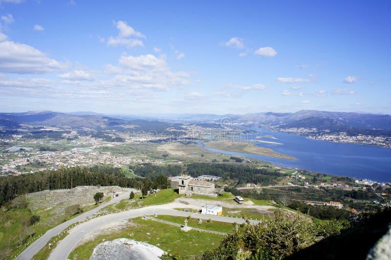 Monte Santa Trega lizenzfreies stockfoto