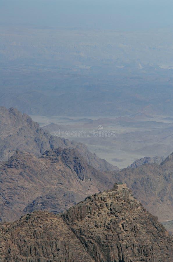 Monte Sinaí fotografía de archivo libre de regalías