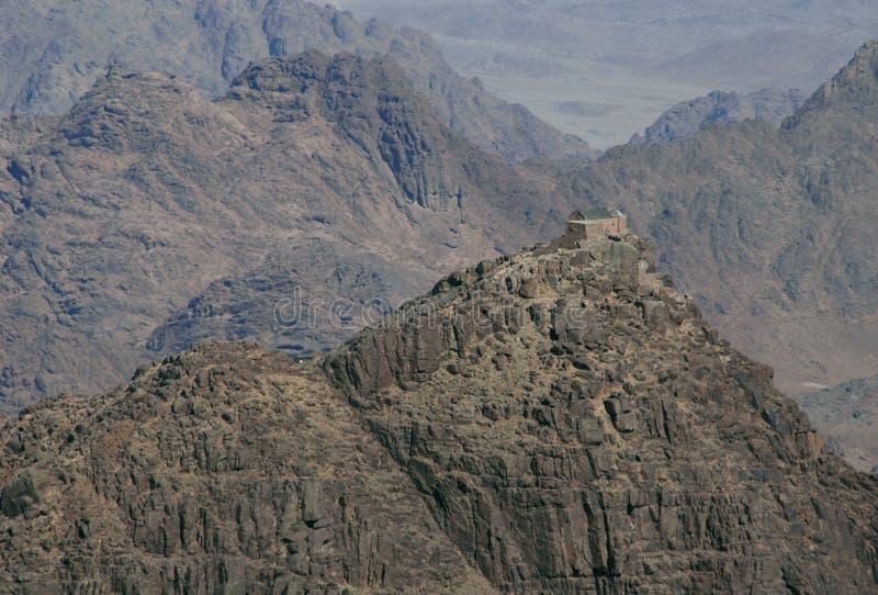 Monte Sinaí fotografía de archivo