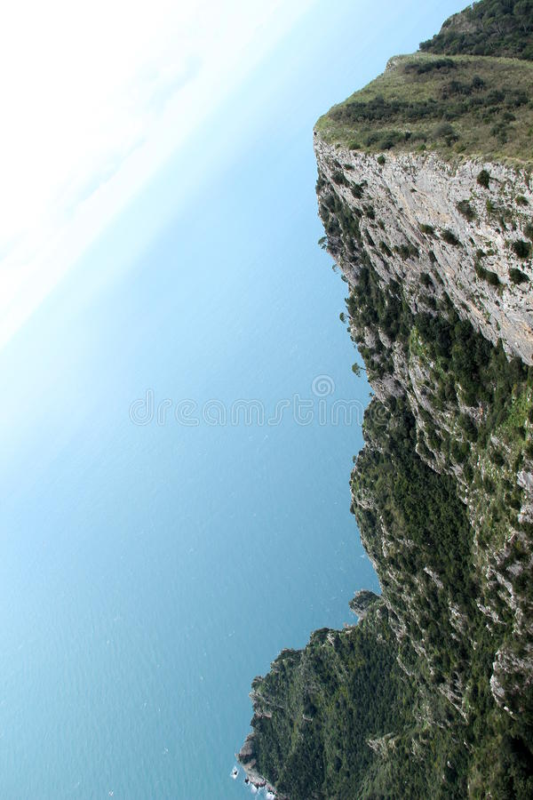 Monte Solaro fotografie stock
