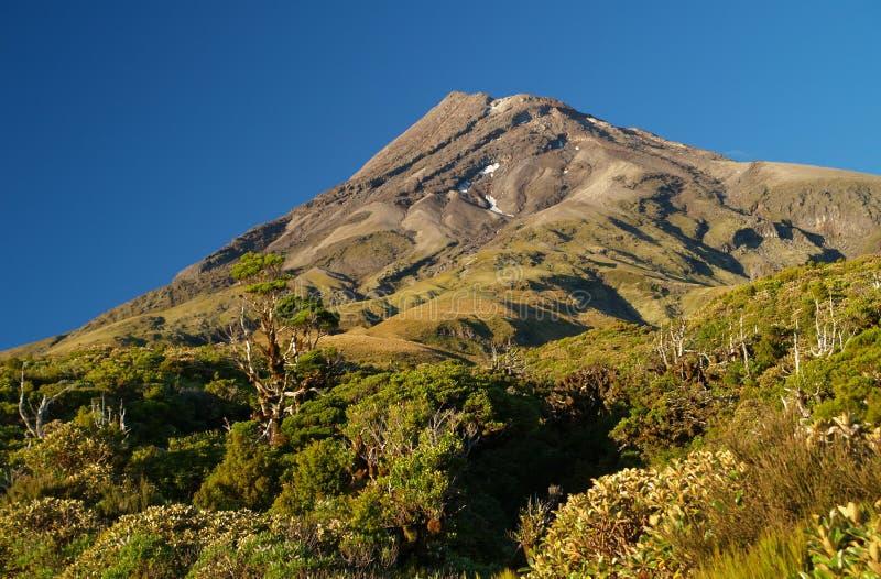 Monte Taranaki imágenes de archivo libres de regalías
