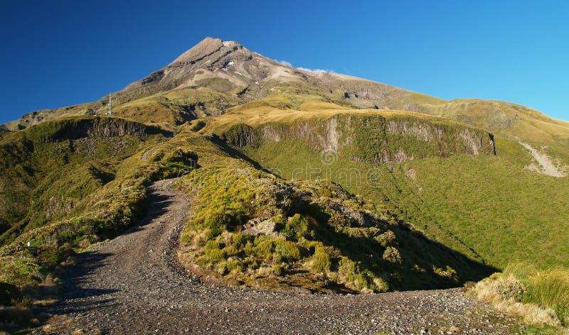 Monte Taranaki imagen de archivo libre de regalías