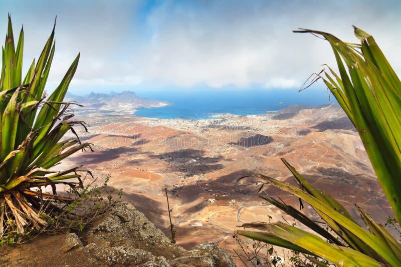 Monte Verde en el sao Vicente, Cabo Verde imágenes de archivo libres de regalías