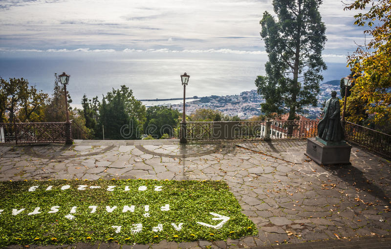 Monte village, near Funchal stock images
