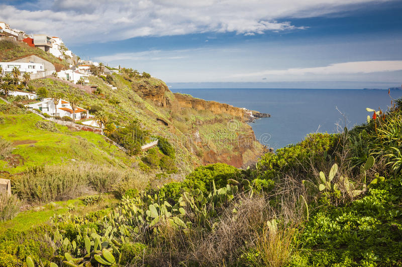Monte village, near Funchal stock image