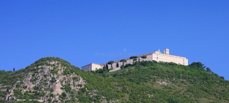 Montecassino στοκ εικόνες με δικαίωμα ελεύθερης χρήσης
