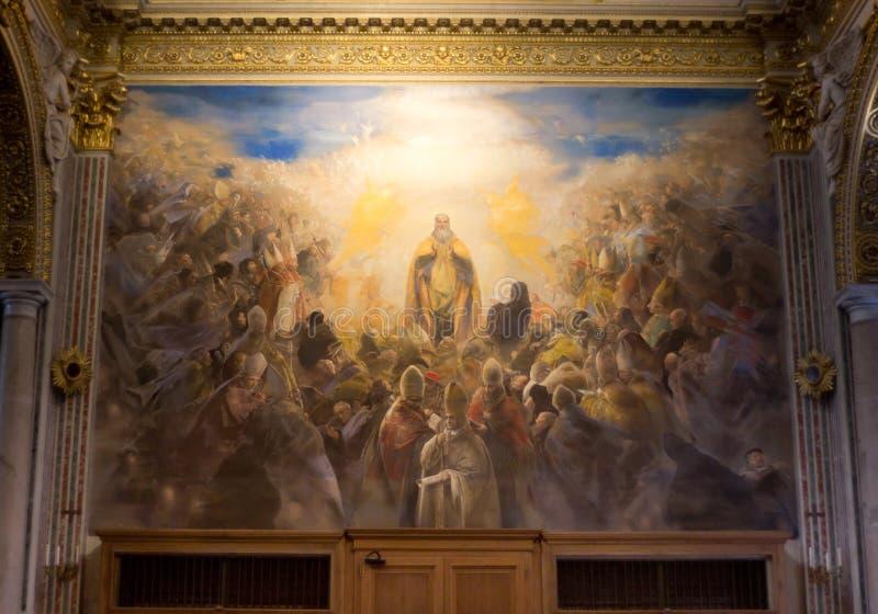 Download Montecassino Abbey stock photo. Image of bombed, interior - 39810246