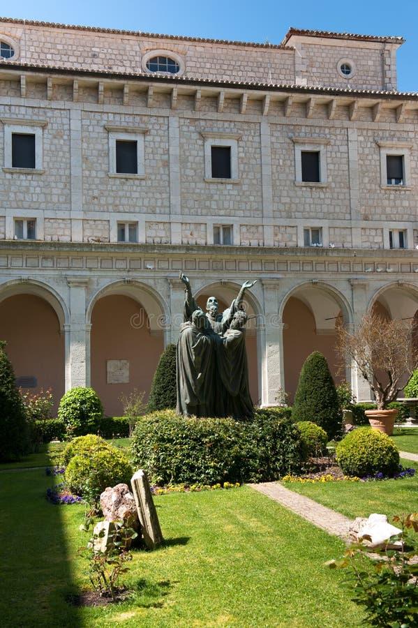 Montecassino Abbey Stock Photo