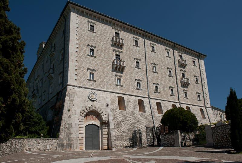 Download Montecassino Abbey stock photo. Image of italy, exzterior - 39811458