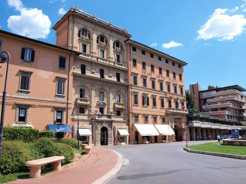 Montecatini Terme, Włochy fotografia royalty free