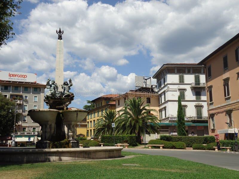 Montecatini Terme, Włochy zdjęcia stock