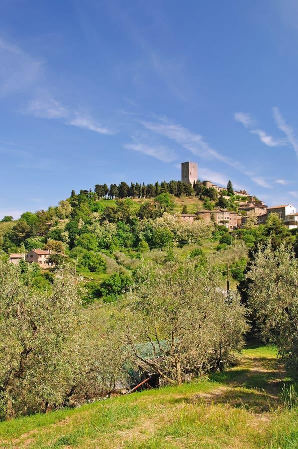 Montecatini, Toscane photos libres de droits