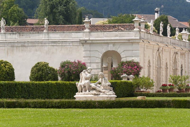 Montecchio Maggiore (Italien) - Landhaus Cordellina stockbild
