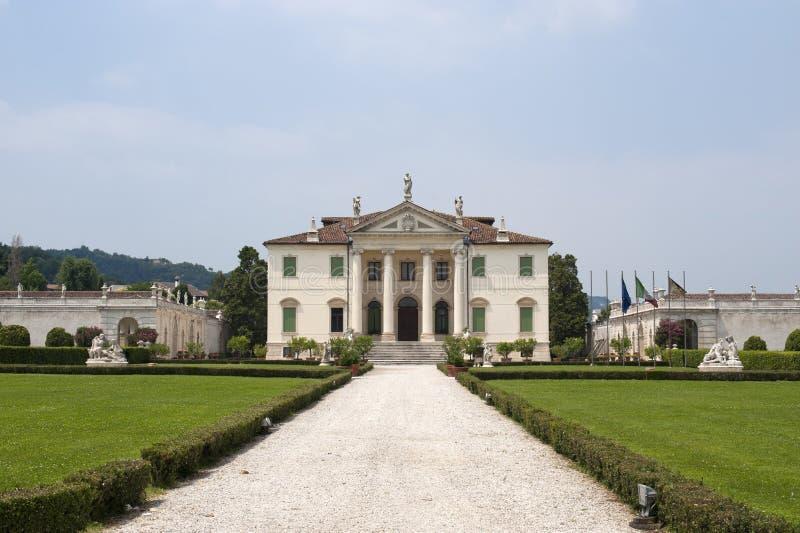 Montecchio Maggiore (Vicenza), Landhaus Cordellina lizenzfreie stockfotografie