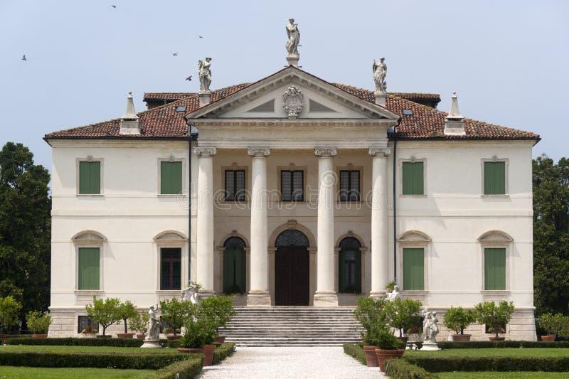 Montecchio Maggiore (Vicenza) - Landhaus Cordellina stockfotografie