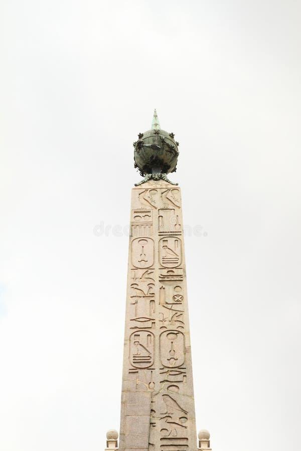Montecitorio方尖碑  免版税库存照片