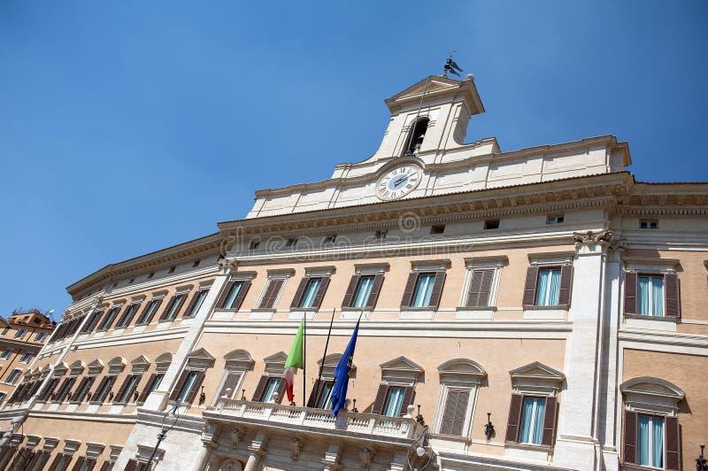 Montecitorio fotografía de archivo libre de regalías