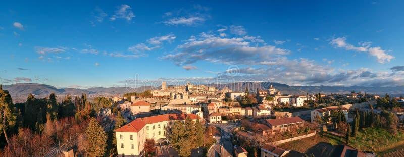 Montefalco, Umbria, Italia immagine stock libera da diritti