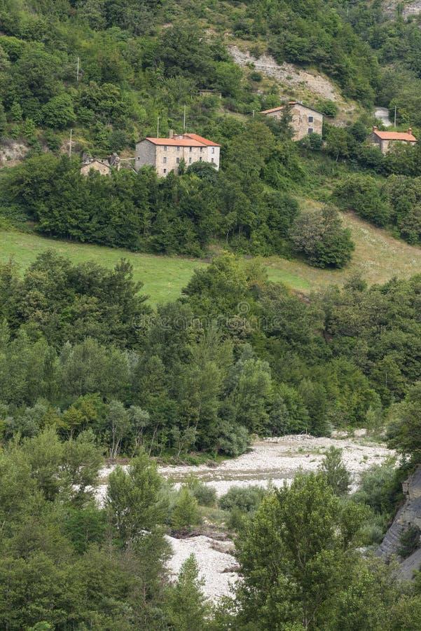 Montefeltro (marsze, Włochy) obrazy stock