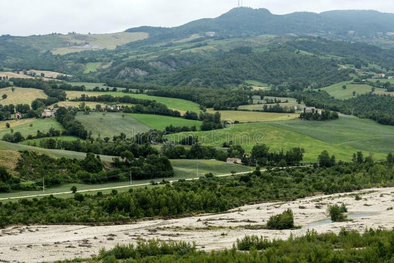 Montefeltro (marsze, Włochy) obraz stock