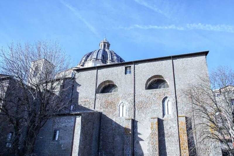 Montefiascone katedra zdjęcie stock