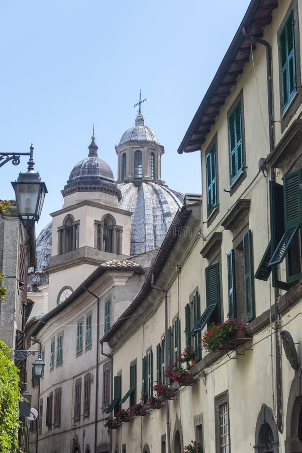 Montefiascone Viterbo, Włochy (,) zdjęcie royalty free