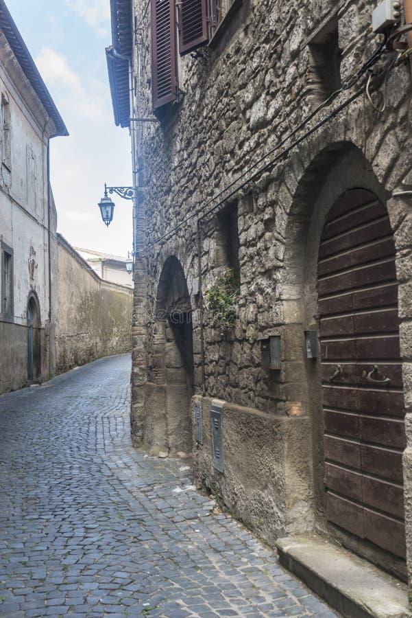 Montefiascone Viterbo, Włochy (,) obraz royalty free