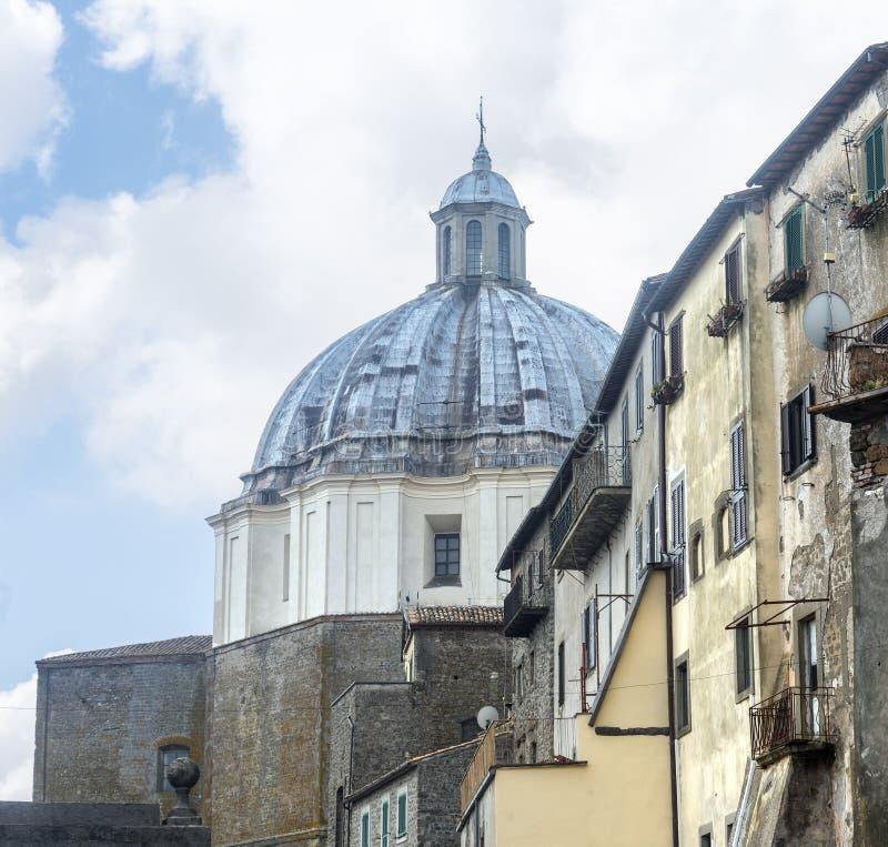 Montefiascone Viterbo, Włochy (,) zdjęcie stock