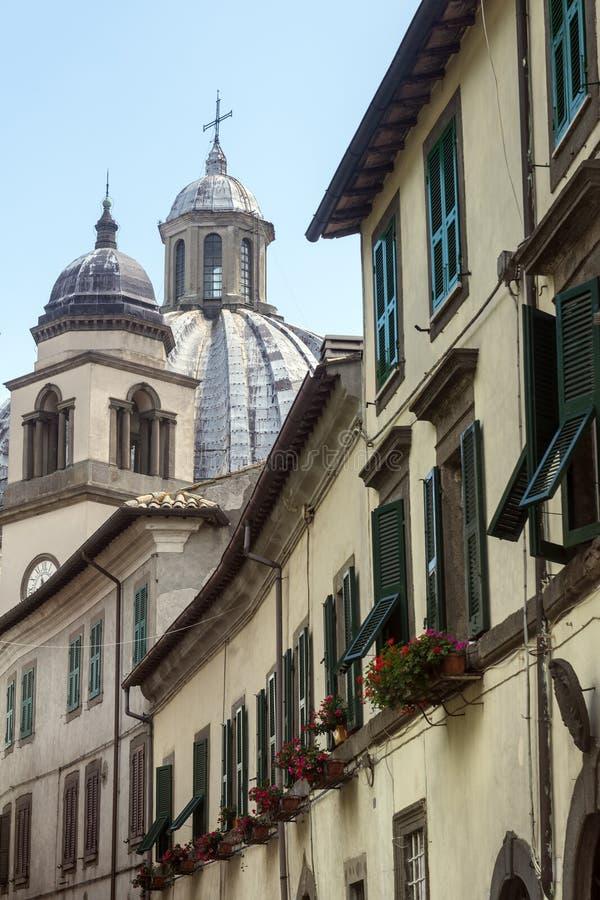 Montefiascone Viterbo, Włochy (,) zdjęcia royalty free