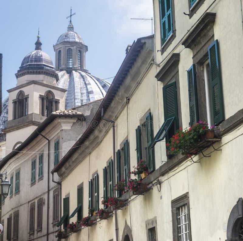Montefiascone Viterbo, Włochy (,) zdjęcia stock