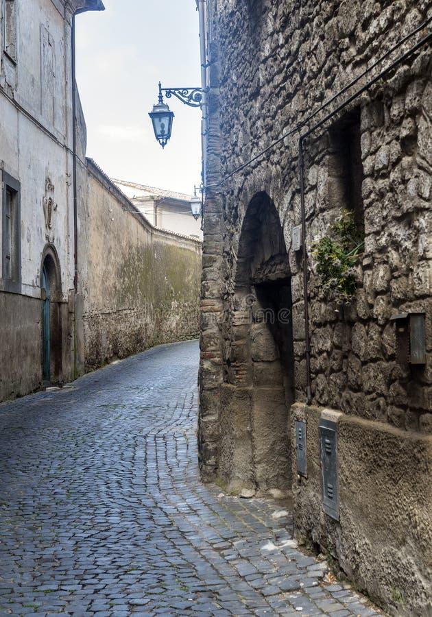 Montefiascone Viterbo, Włochy (,) obrazy royalty free