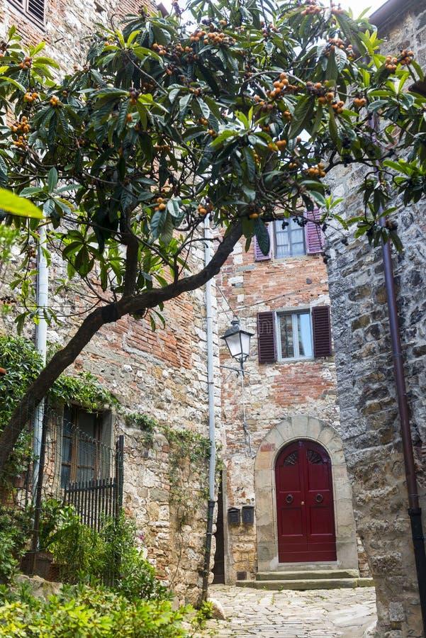 Montefioralle (Chianti, Toscânia) imagens de stock royalty free