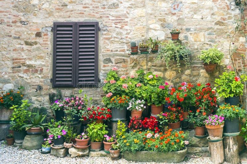 Montefioralle (Chianti, Toskana) lizenzfreie stockbilder