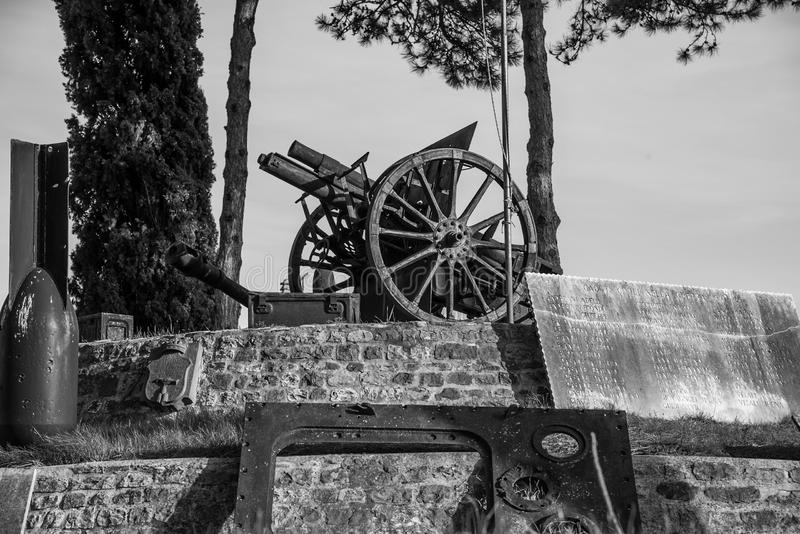 Montefiore Conca (Rimini) stock photo