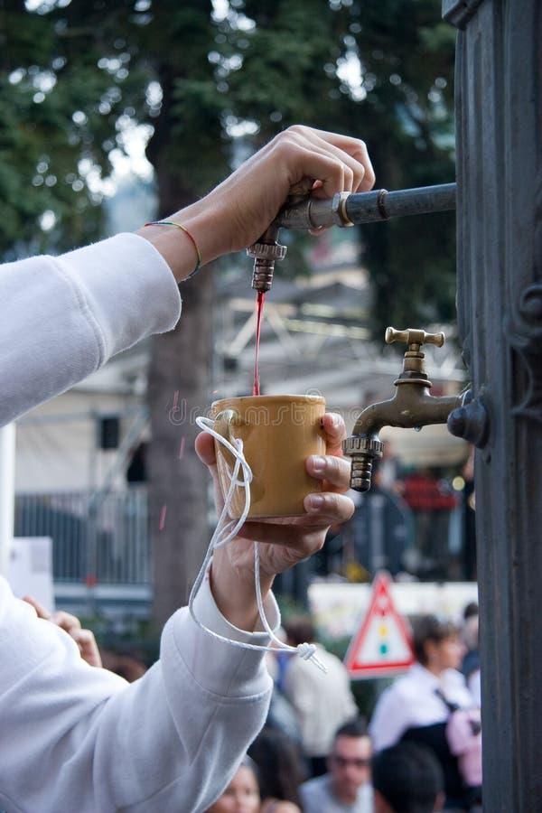 Montefiore Itália do festival da castanha imagens de stock