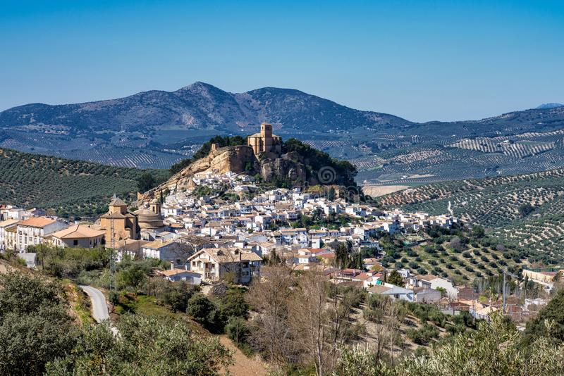 Montefrio в области Гранады Андалусии в Испании стоковые изображения rf