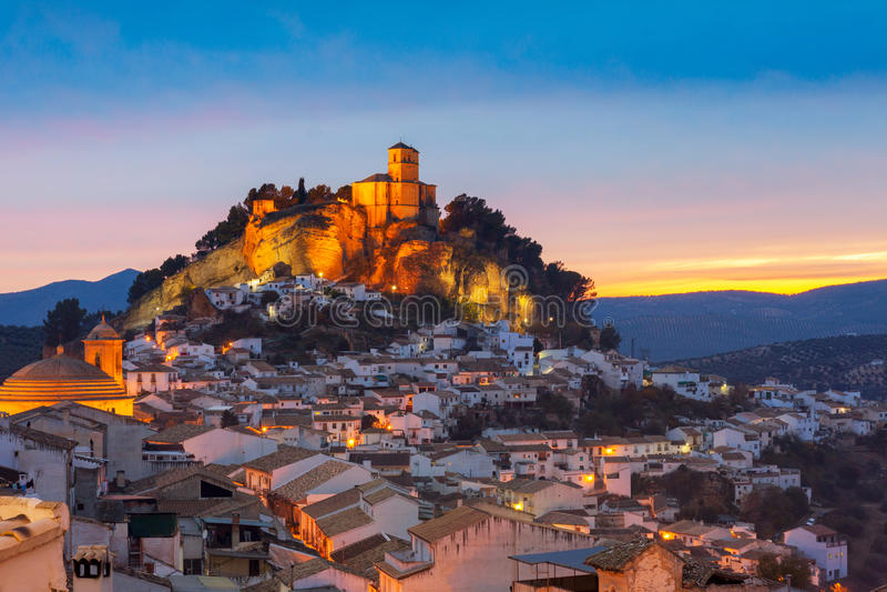 Montefrio a Granada, Spagna immagini stock libere da diritti