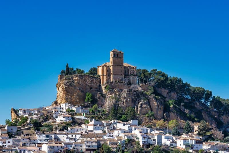 Montefrio in het gebied van Granada van Andalusia in Spanje royalty-vrije stock afbeeldingen