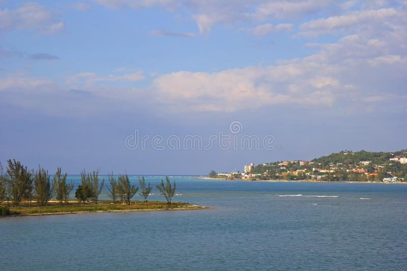 Download Montego Bay, Jamaica stock image. Image of panorama, blue - 66068113