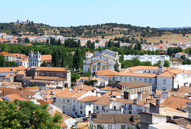 Montemor o Novo, Alentejo, Portugalia obrazy stock