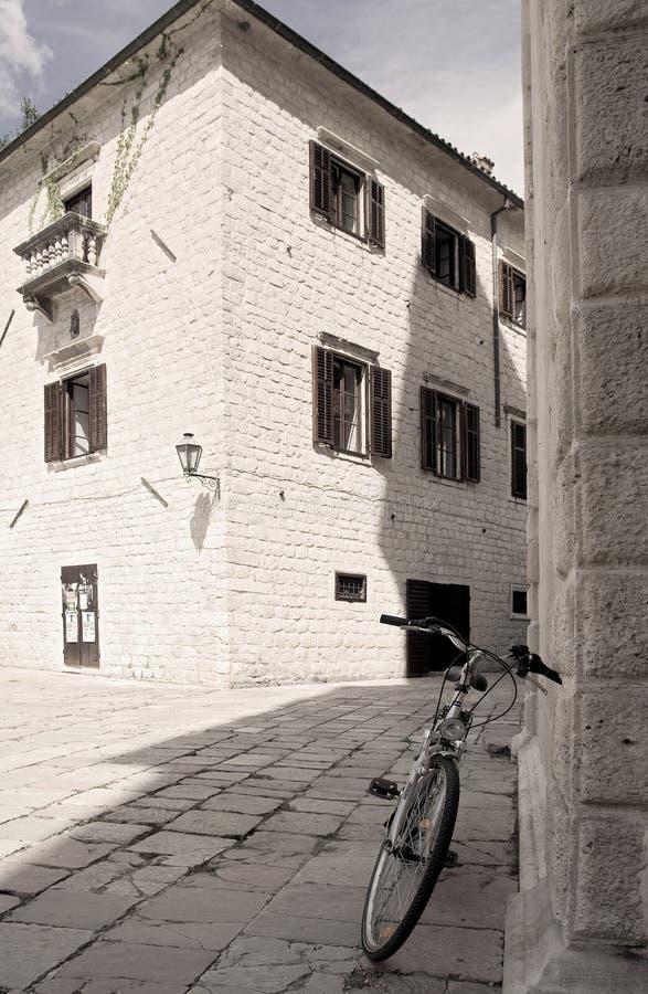 montenegro街道 免版税图库摄影