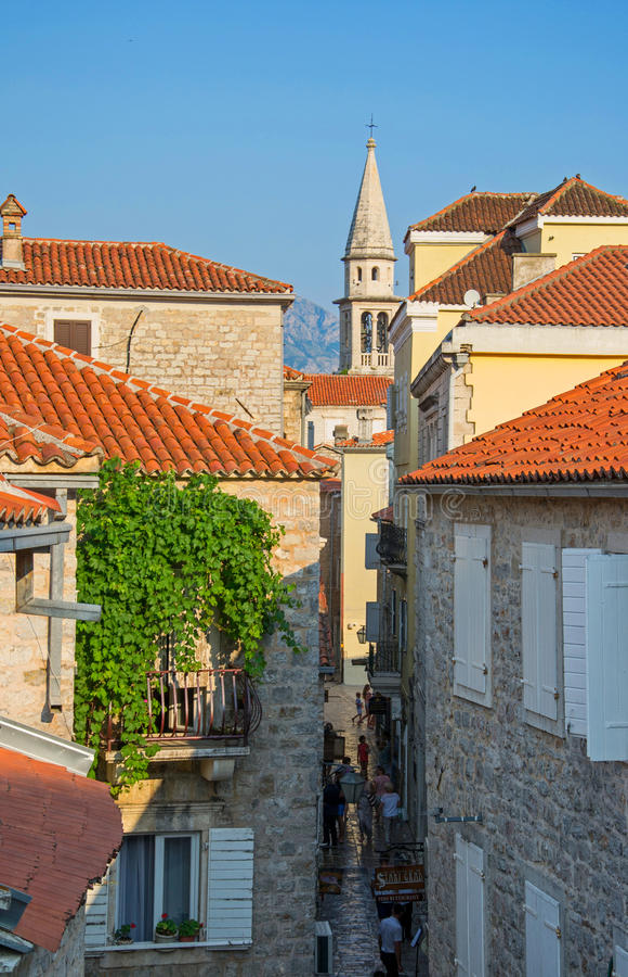montenegro fotografie stock libere da diritti